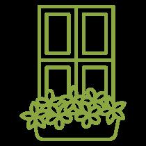 Icône balconnière