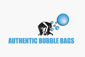Authentic Bubble Bags Logo